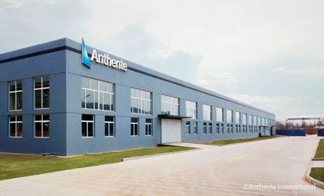 Anthente's new factory.
