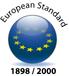 European Standard 1898/2000 logo.