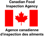Canadian Food Inspection Agency logo.