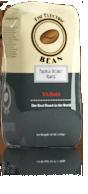 Render of a coffee bag design.