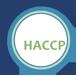 Hazard Analysis and Critical Control Point logo.