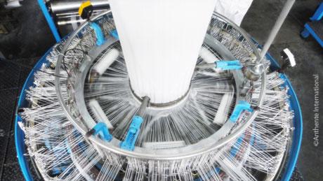 Closeup of a machine