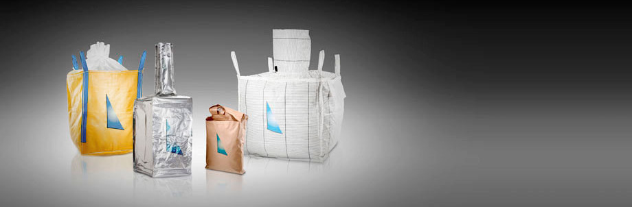 A promotional image of the various materials that Anthente can use to manufacture bags.
